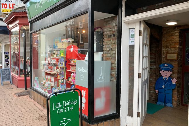 Thumbnail Retail premises for sale in 47A High Street, North Yorkshire