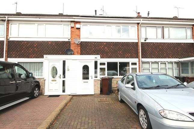 Thumbnail Terraced house to rent in Aspen Way, Wolverhampton