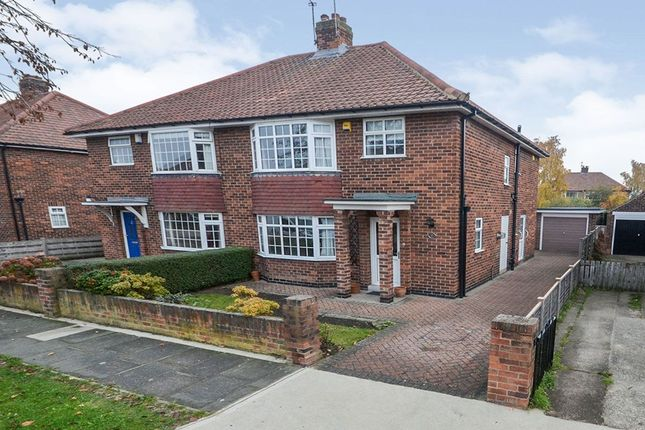 Thumbnail Semi-detached house to rent in Elmlands Grove, York
