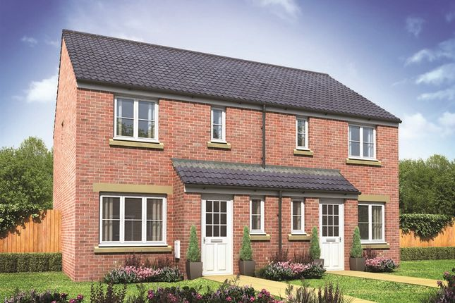 "Thumbnail Semi-detached house for sale in ""The Hanbury"" at Buttermilk Close, Pembroke"