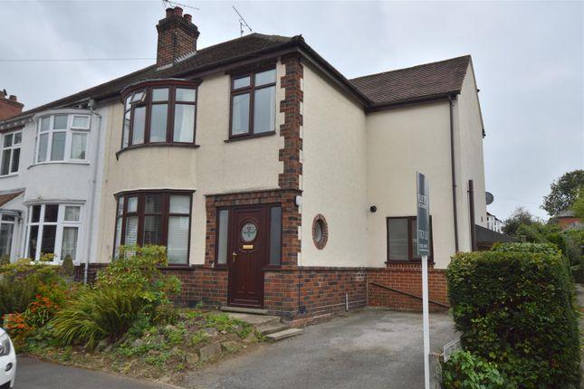 Thumbnail Semi-detached house to rent in Ecclesbourne Avenue, Duffield, Belper