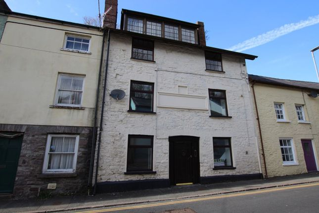 Thumbnail Terraced house for sale in The Struet, Brecon