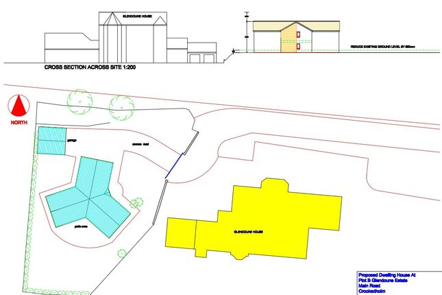 Thumbnail Land for sale in Crookedholm, Kilmarnock