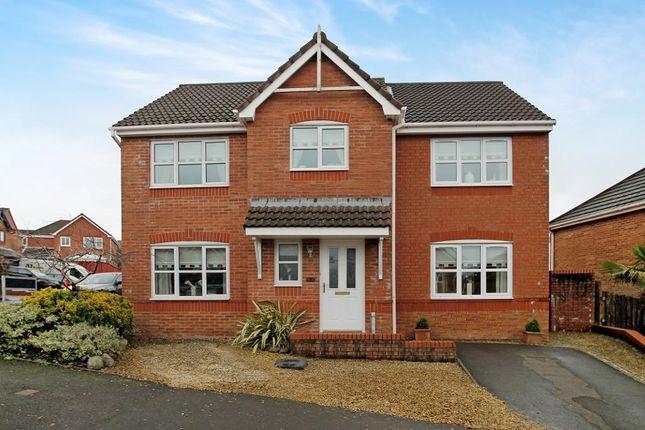 Thumbnail Detached house for sale in Bradley Gardens, Merthyr Tydfil