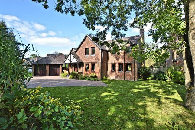Thumbnail Detached house for sale in Dewe Lane, Burghfield, Reading