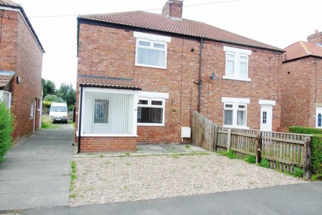 Thumbnail Semi-detached house to rent in Church Avenue, West Sleekburn, Choppington