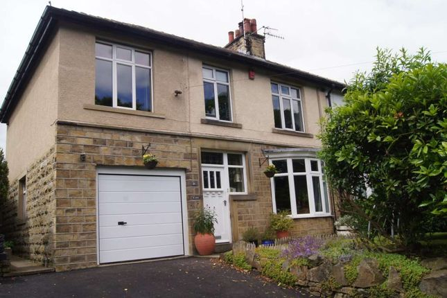 Thumbnail Semi-detached house to rent in Springwood Road, Thongsbridge, Holmfirth