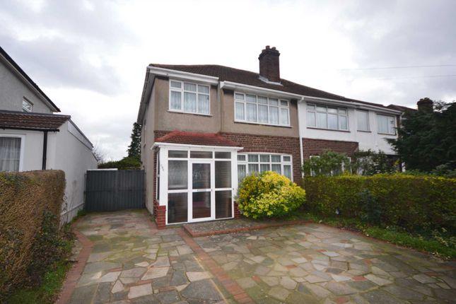 Thumbnail Semi-detached house for sale in Brampton Road, Bexleyheath