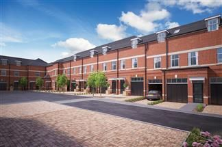 Thumbnail Town house for sale in Stannington Mews, Off Green Lane, Stannington