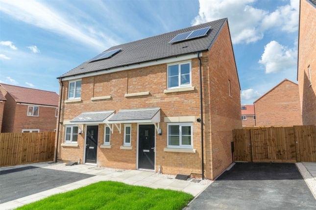 Thumbnail Semi-detached house for sale in Marriott Close, Narborough, King's Lynn