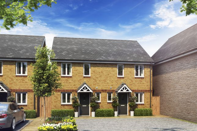 Thumbnail Semi-detached house for sale in Clover Fields, Didcot