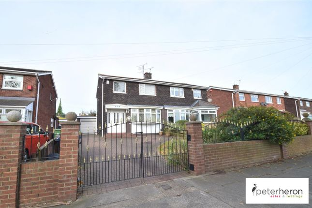 Thumbnail Semi-detached house for sale in Farrington Avenue, East Herrington, Sunderland