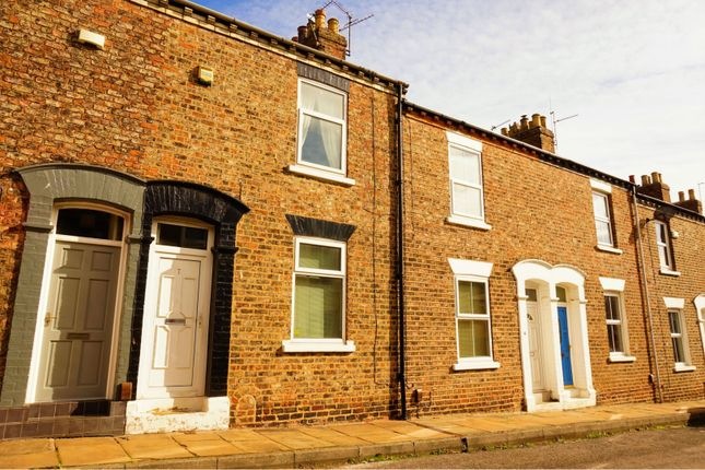 Thumbnail Terraced house for sale in Cleveland Street, York