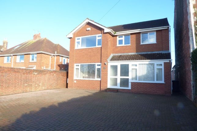 Thumbnail Detached house to rent in Polsloe Road, Exeter
