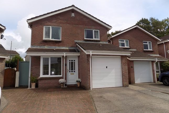 Thumbnail Detached house for sale in Rectory Close, Sarn, Bridgend.