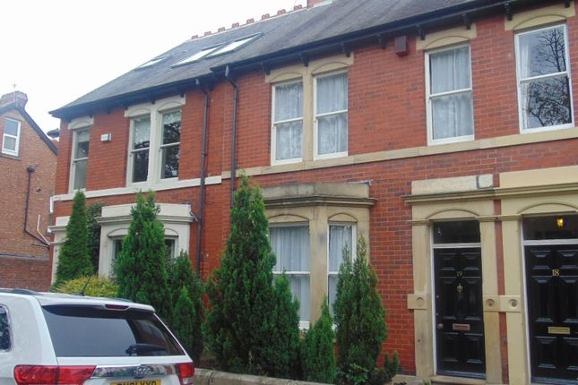 Thumbnail Terraced house to rent in Albury Road, Jesmond, Jesmond, Tyne And Wear