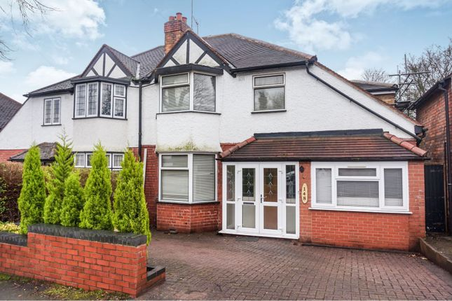 Thumbnail Semi-detached house for sale in Erdington Hall Road, Birmingham