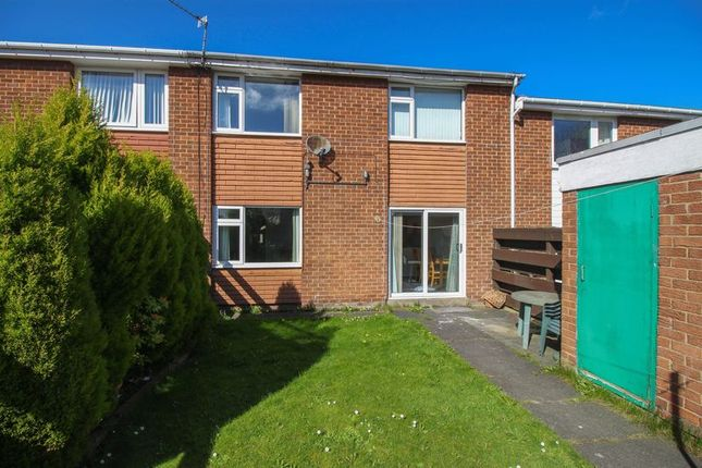 Thumbnail Terraced house for sale in Croftwell Close, Blaydon-On-Tyne