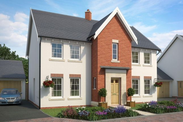 "Thumbnail Detached house for sale in ""Oakhampton 2"" at The Green, Chilpark, Fremington, Barnstaple"