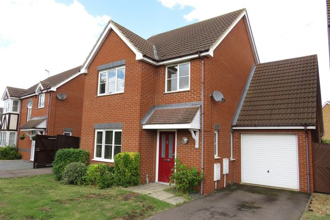 Thumbnail Detached house for sale in Daimler Avenue, Yaxley, Peterborough