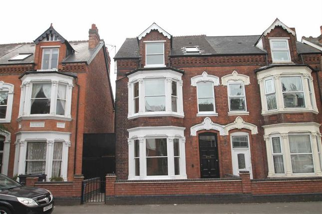 Thumbnail Semi-detached house for sale in Gillott Road, Edgbaston, Birmingham