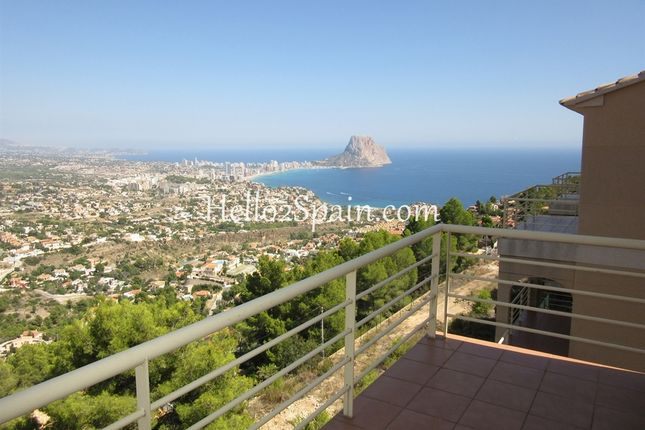 4 bed town house for sale in Calpe, Alicante, Spain