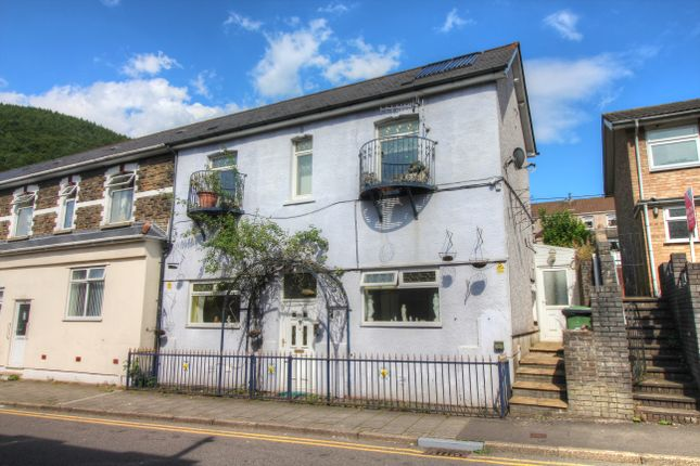 Thumbnail End terrace house for sale in Newport Road, Cwmcarn, Cross Keys, Newport
