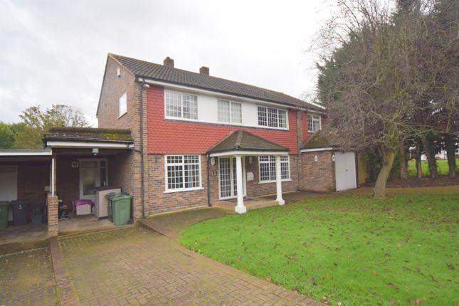 Thumbnail Detached house for sale in Delta Close, Worcester Park