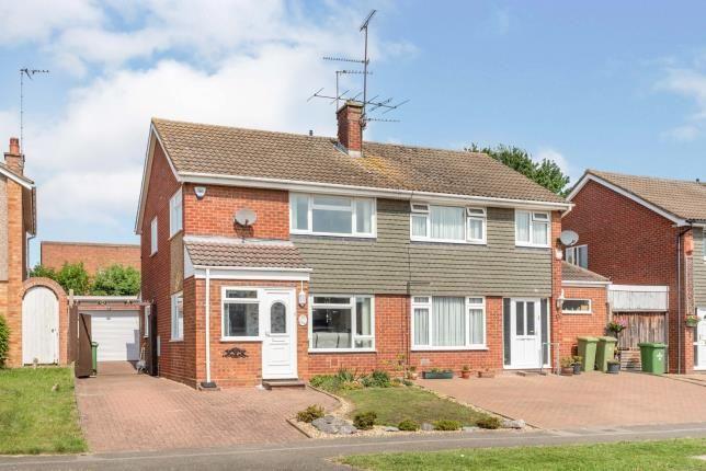 Thumbnail Semi-detached house for sale in Severn Way, Bletchley, Milton Keynes, Buckinghamshire