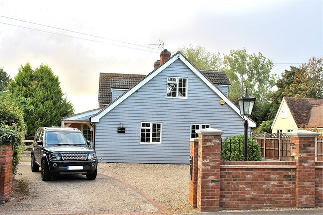 Thumbnail Detached house for sale in Little Dunmow, Great Dunmow, Essex