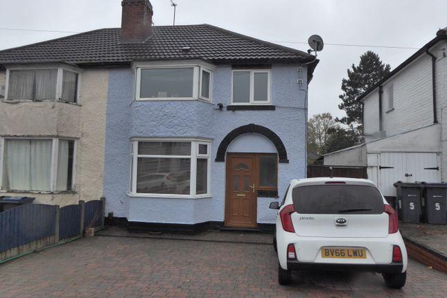 Thumbnail Semi-detached house for sale in Moorpark Road, Birmingham