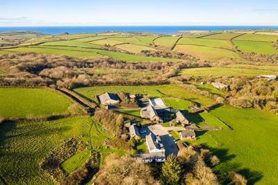 Thumbnail Leisure/hospitality for sale in Treworgie Barton, Crackington Haven, Bude, Cornwall
