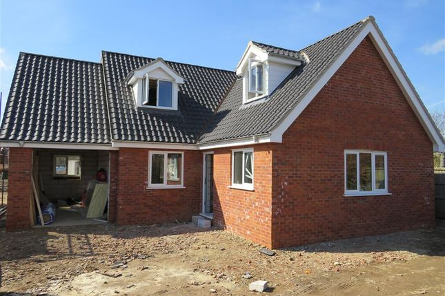 Thumbnail Bungalow for sale in Knights Way, Aylsham, Norwich