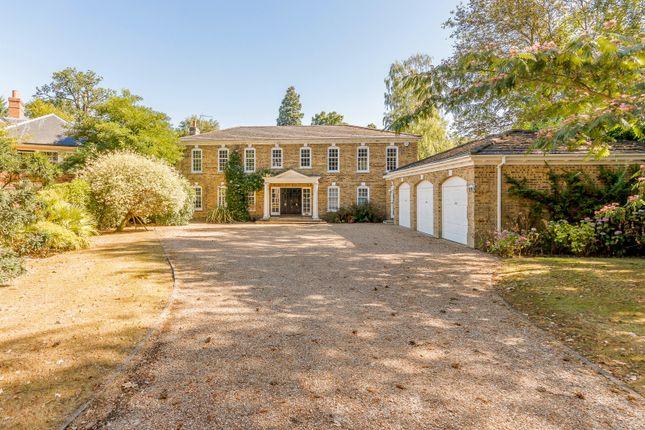 Thumbnail Detached house to rent in Pond Close, Burwood Park, Hersham, Walton-On-Thames