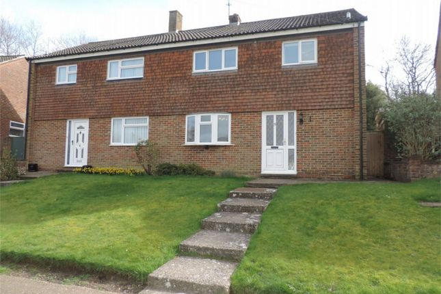 Thumbnail Semi-detached house for sale in Ticehurst Close, Bexhill On Sea, East Sussex