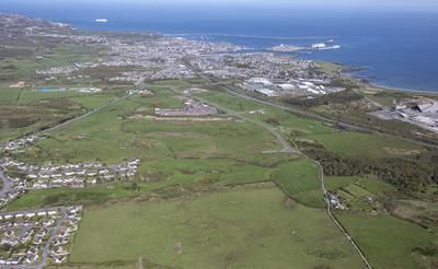 Thumbnail Land for sale in Serviced Plots, Parc Cybi, Holyhead, Anglesey