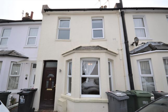 Thumbnail Terraced house to rent in Leslie Street, Eastbourne