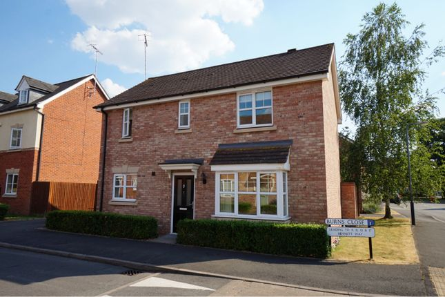 Thumbnail Detached house for sale in Burns Close, Stratford-Upon-Avon