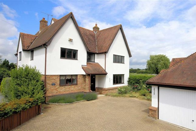 Thumbnail Detached house for sale in Dunmow Road, Fyfield, Essex