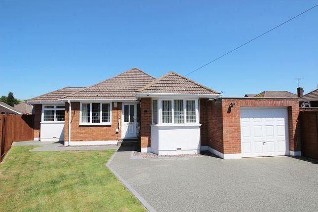 Thumbnail Detached bungalow for sale in Patricia Close, West End, Southampton