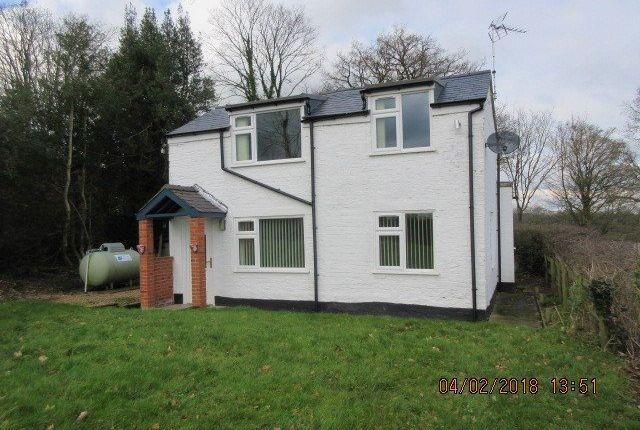 Thumbnail Detached house to rent in Erbistock, Wrexham