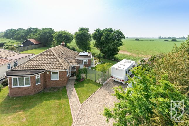 Thumbnail Bungalow for sale in Haggars Lane, Frating, Colchester, Essex