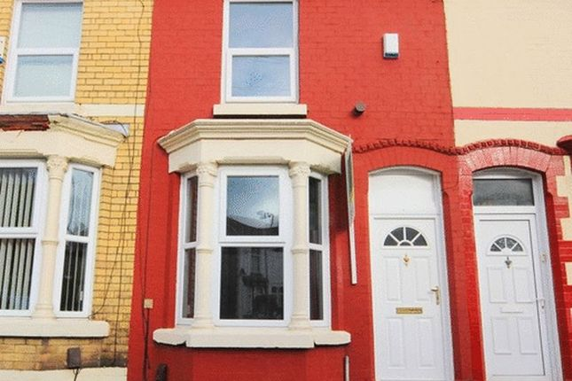 Thumbnail Terraced house for sale in Strathcona Road, Wavertree, Liverpool