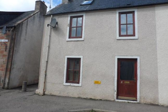 Thumbnail 2 bed end terrace house to rent in Balconie Street, Evanton, Dingwall