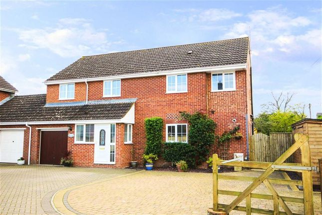 Thumbnail Link-detached house for sale in Calne Road, Lyneham, Wiltshire