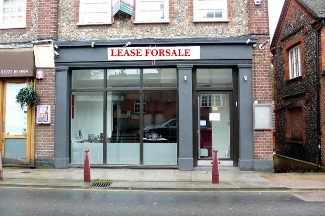 Thumbnail Restaurant/cafe to let in Watling Street, Radlett