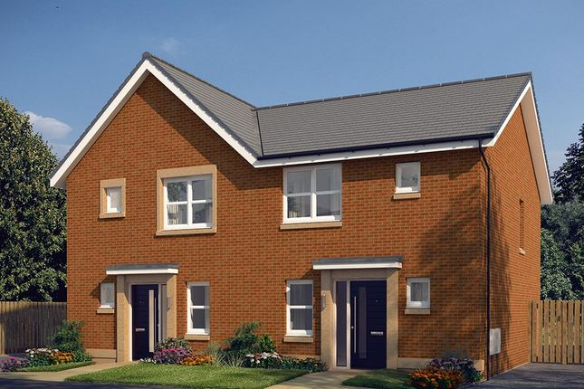 "Thumbnail Semi-detached house for sale in ""The Hamilton"" at Edinburgh Road, Newhouse, Motherwell"