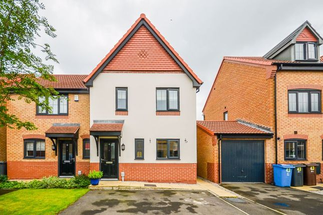 Thumbnail Semi-detached house for sale in 41 College Gardens, Hull