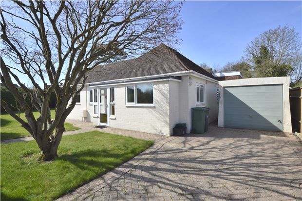 Thumbnail Detached bungalow for sale in Benhams Drive, Horley