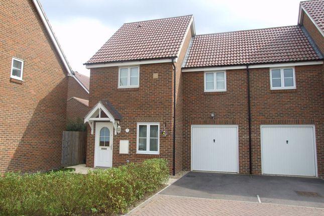 Thumbnail Semi-detached house to rent in Jersey Drive, Winnersh, Wokingham, Berkshire